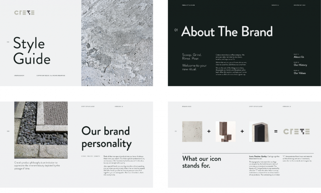 Branding Style Guide for Concrete Products